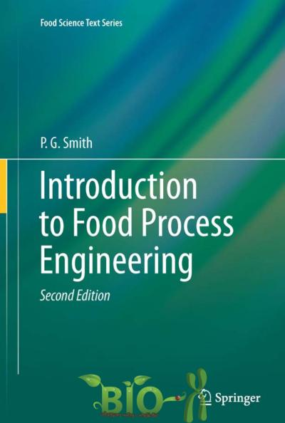 Introduction to Food Process Engineering in PDF